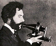 alexander graham bell inventor of the telephone actor portraying alexander graham bell