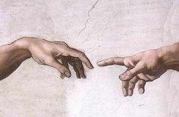 hands of god and adam - Michelangelo Lebenslauf