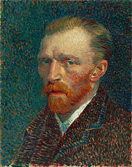 Small portrait of Van Gogh