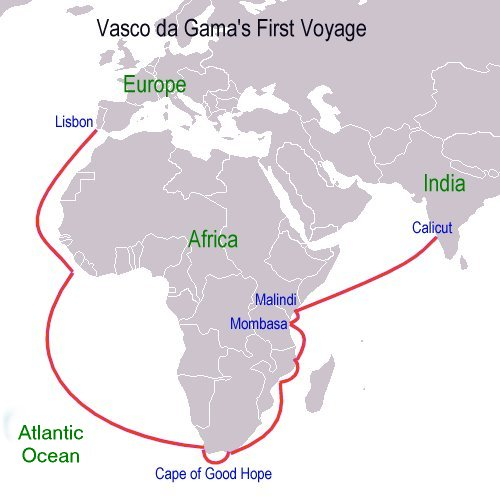 0bd3214978309 Explorers for Kids  Vasco da Gama