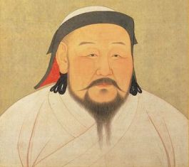 Mongol Emperor of China Kublai Khan