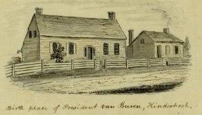 Martin Van Buren upbringing