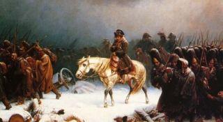 napoleon on horse leaving russia - Napoleon Bonaparte Lebenslauf