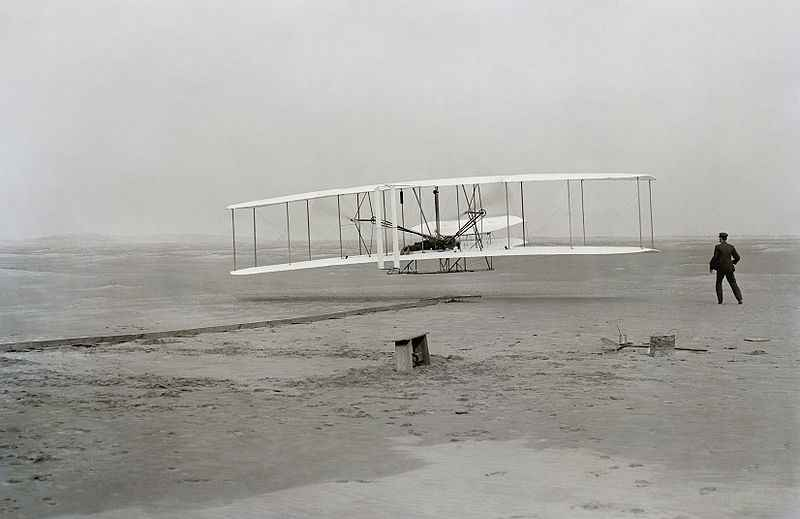 Wright Brothers: Inventors of the airplane.