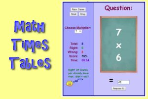 Math Times Tables