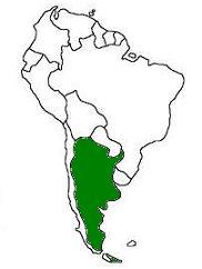 Geography For Kids Argentina - Argentina landforms map