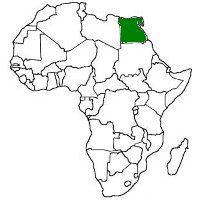 Geography For Kids Egypt - Africa map ks2