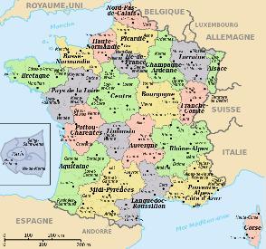 Map Of France Ks2.Geography For Kids France
