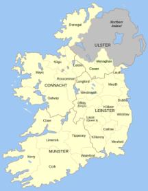 Country Of Ireland Map.Geography For Kids Ireland