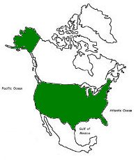 A history and geography of canada a country in north america