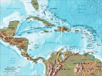 Geography For Kids Central America And The Caribbean - Us physical map game