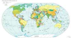 Geography for kids world maps and countries map of the political world gumiabroncs Gallery