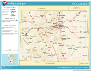 Atlas of Colorado State