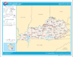Atlas of Kentucky State
