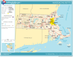 Atlas of Massachusetts State