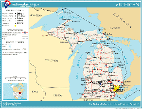 Atlas of Michigan State