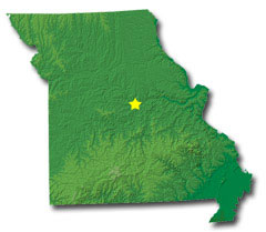 Missouri State Map