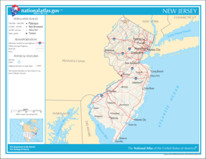 Atlas of New Jersey State