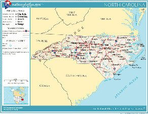 Atlas of North Carolina State