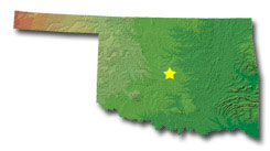 Oklahoma State Map