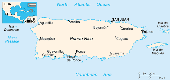United States Geography for Kids: Puerto Rico
