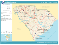 Atlas of South Carolina State