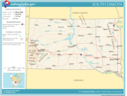 Atlas of South Dakota State