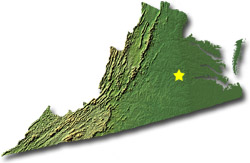Virginia State Map