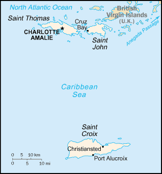 United States Geography for Kids: Virgin Islands