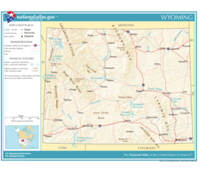 United States Geography For Kids Wyoming