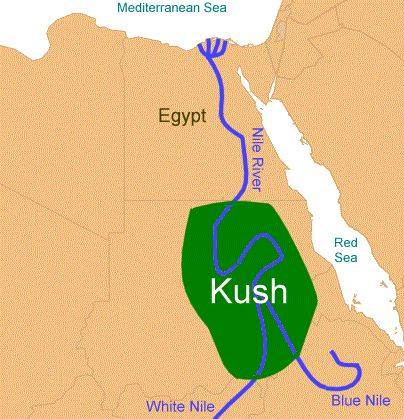 Ancient Africa for Kids Kingdom of Kush Nubia