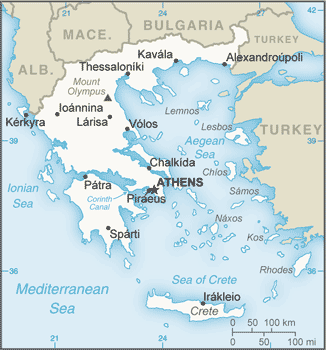ancient greece natural resources