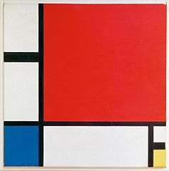Composition Ii In Red Blue And Yellow By Piet Mondrian