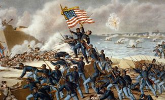 the role of the mississippi river system in the american civil war Florida's role in the civil war:  african american troops fought in this battle on the union's side and many of these men were lost  of the mississippi river .