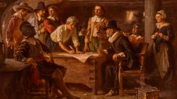 pics of the mayflower compact