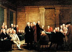 how long did the first continental congress meet for