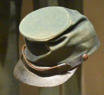Green civil war sharpshooter's hat