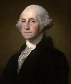 Biography Of President George Washington For Kids Portrait Painting Of George Washington
