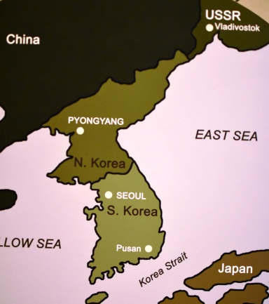 south korea and north korea from the smithsonian photo by ducksters before the war