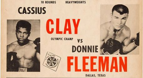 Muhammad Ali Fight Poster