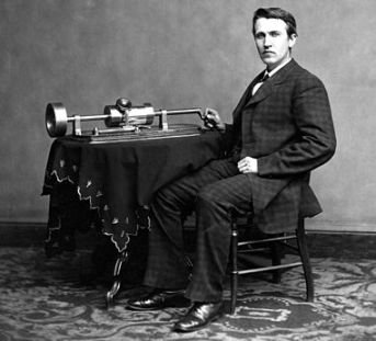 Thomas Edison Biography for Kids:Edison and Phonograph by Levin C. Handy,Lighting