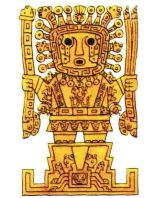 A god of the Inca