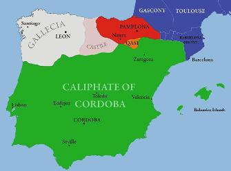 Kids Map Of Spain.History Of The Early Islamic World For Kids Islam In Spain