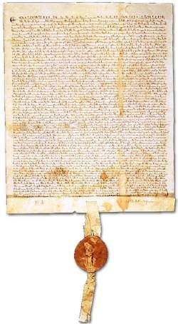 Magna Carta document