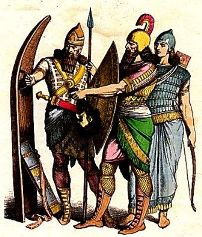 Ancient Mesopotamia for Kids: Assyrian Army and Warriors