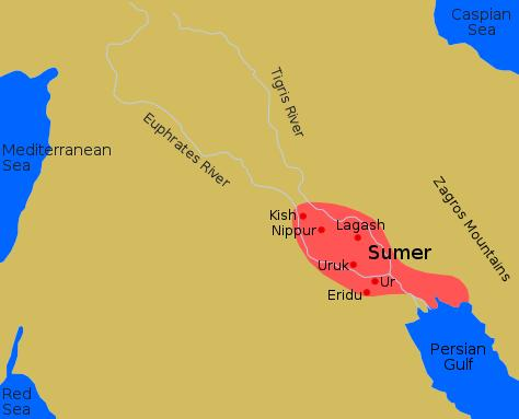 Ancient mesopotamia sumerians the cities of sumer gumiabroncs Images