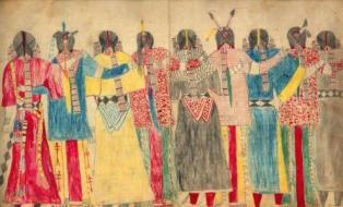 History Native American Art For Kids