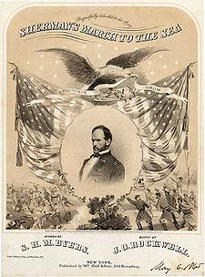 a history of major general shermans march to the sea in 1864 Sherman's march, also referred to as the march to the sea, was the savannah campaign, following a successful atlanta campaign, that lasted from november 15th to december 21st, 1864 on november 9th, 1864, sherman ordered the outline of their 'march to the sea' which was nearly 285 miles.