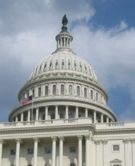 Capitol building of the United States