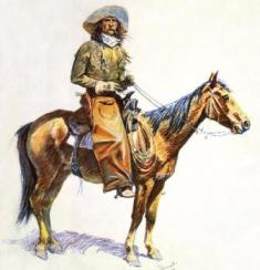 arizona cowboy by frederic remington